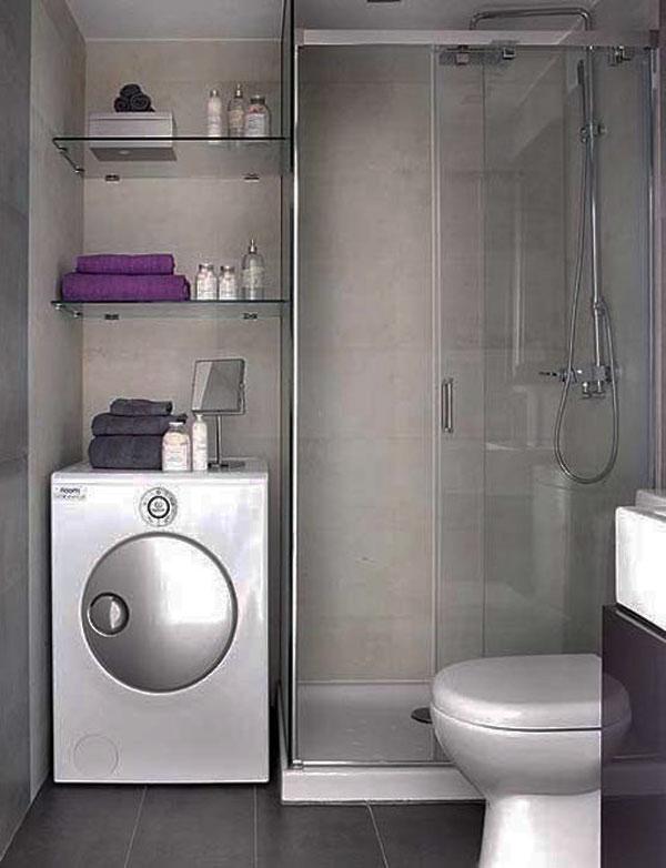 Дизайн ванной комнаты маленького размера фото 2
