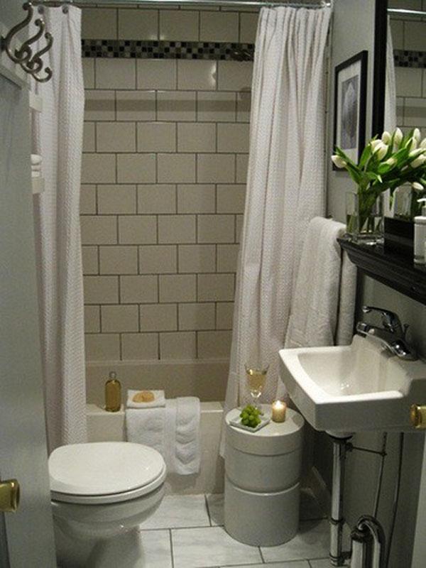 Дизайн ванной комнаты маленького размера фото 6