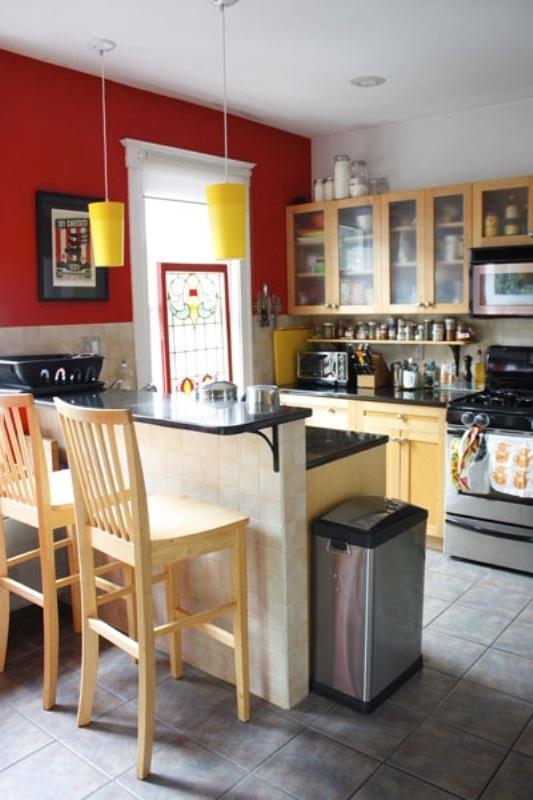 Кухня стандартная дизайн фото