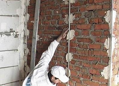 Выравнивание стен под обои. Установка маяков