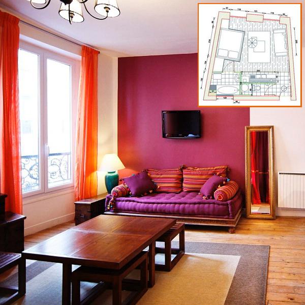Дизайн квартиры студии 30 кв м