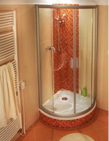 дизайн ванной комнаты 3 кв. м. Сантехническое оборудование