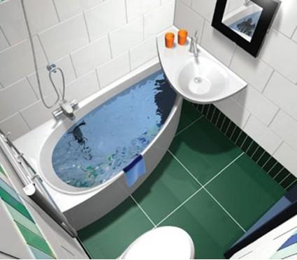 дизайн ванной комнаты 3 кв. м. - возможно ли это?
