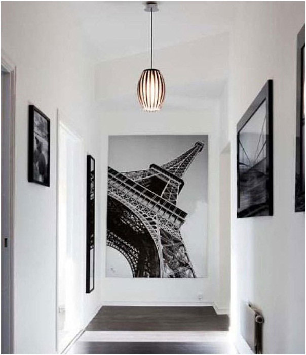 Дизайн коридора и прихожей в стиле хай-тек