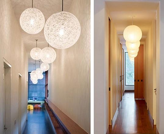 Дизайн коридора и прихожей. Освещение коридора