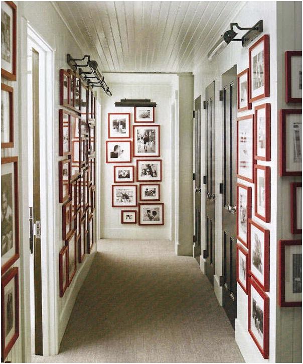 Дизайн коридора и прихожей в стиле кантри