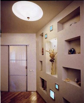 Дизайн коридора и прихожей в стиле минимализм
