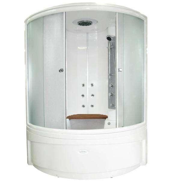 душевая кабина в ванной 4 кв м
