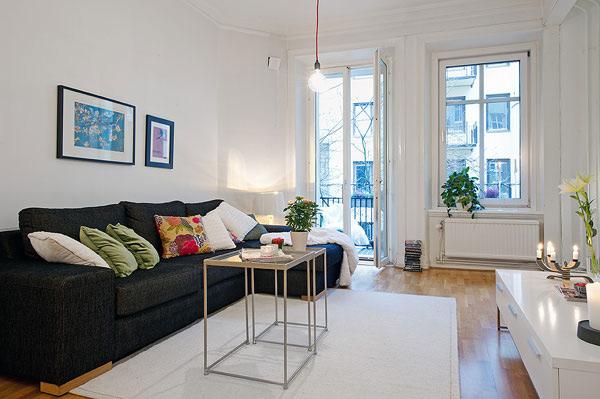 Дизайн комнаты 18 кв м -4