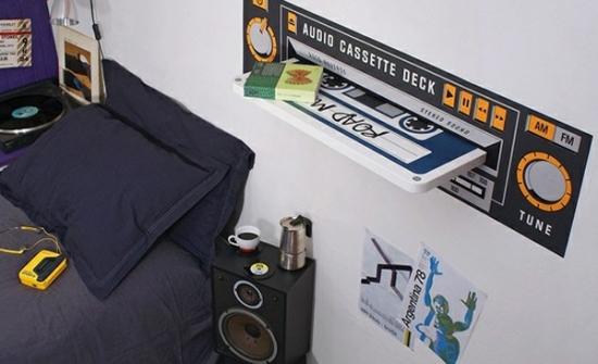 Дизайн комнаты для подростка мальчика в стиле РОК 4