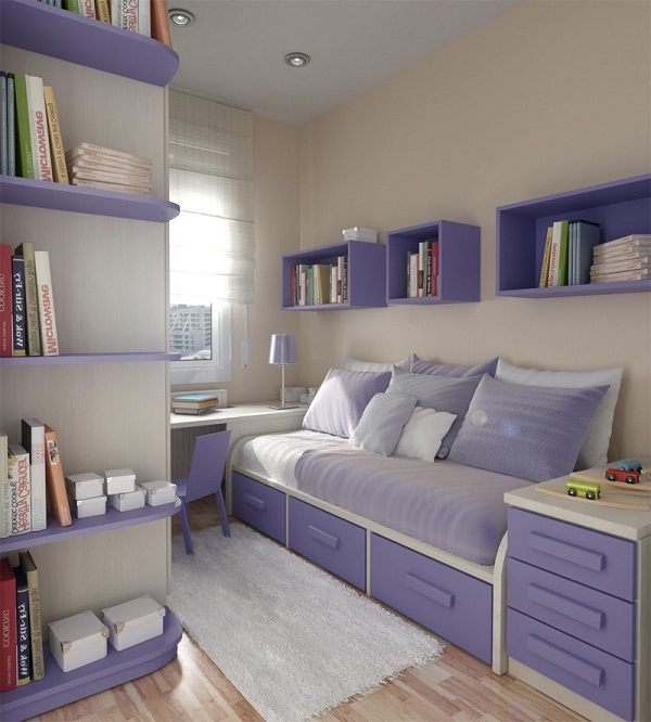 Дизайн спальни маленькой  3