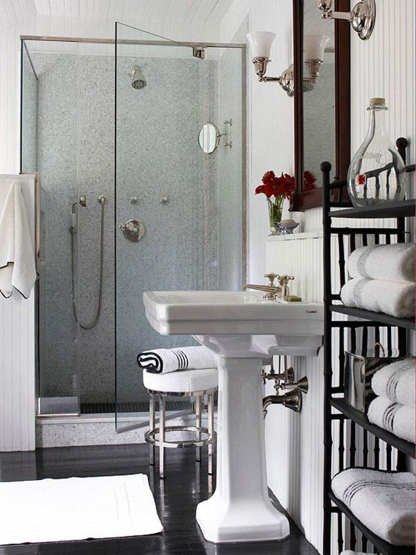 Дизайн ванной комнаты маленького размера фото 4