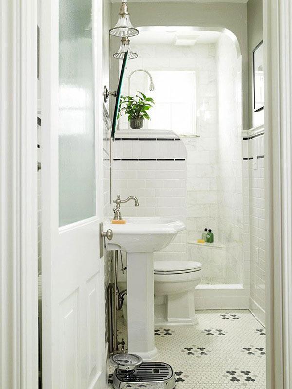 Дизайн ванной комнаты маленького размера фото 5