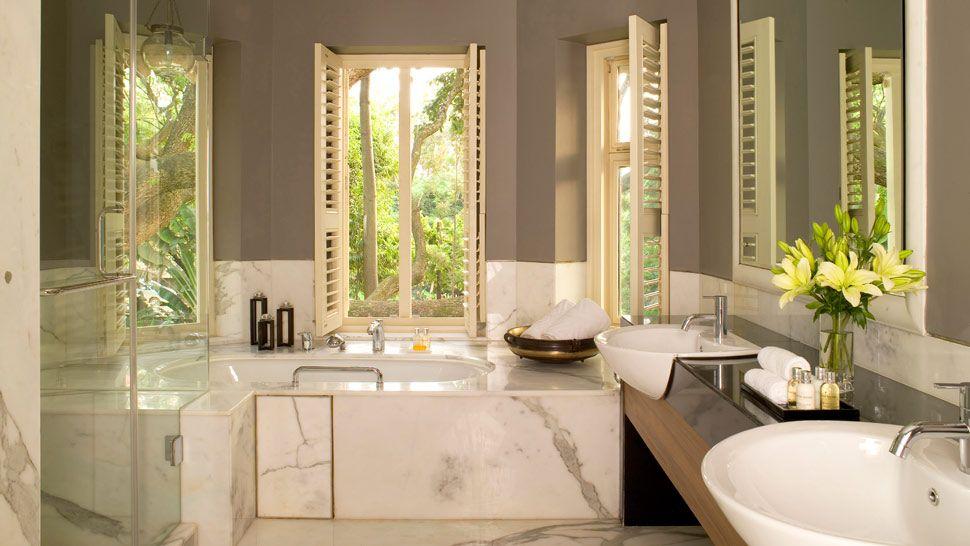 Дизайн ванной комнаты с душевой кабиной 3