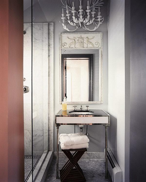 Дизайн ванной комнаты с душевой кабиной 4