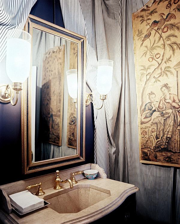 Дизайн ванной комнаты с душевой кабиной 5