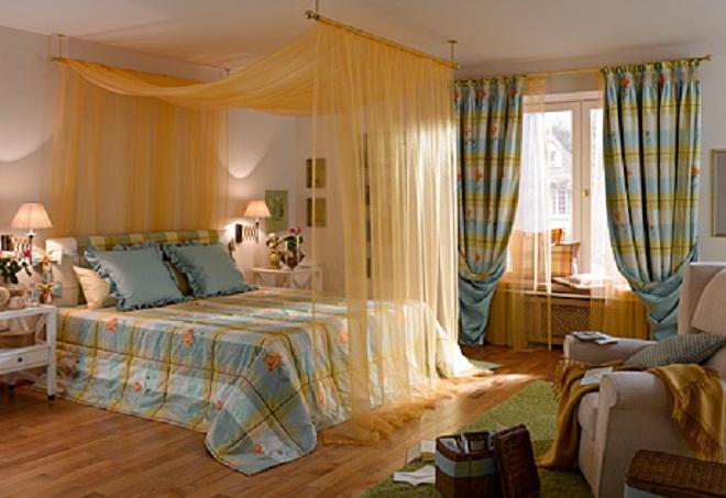 дизайн штор для спальни 4