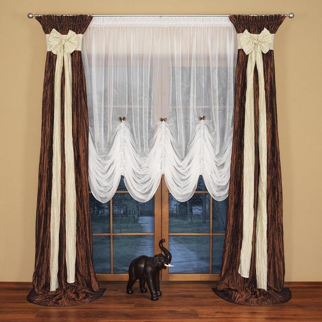 дизайн штор для спальни 6