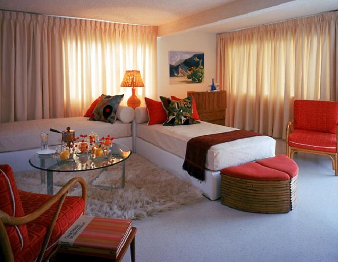 дизайн спальни гостиной 4