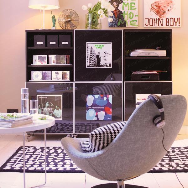 интерьер гостиной в маленькой квартире 4