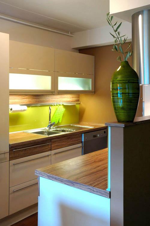 дизайн кухни 9 кв м фото №4