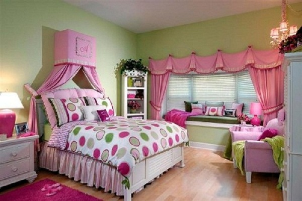 Дизайн детской комнаты для подростка девочки 2