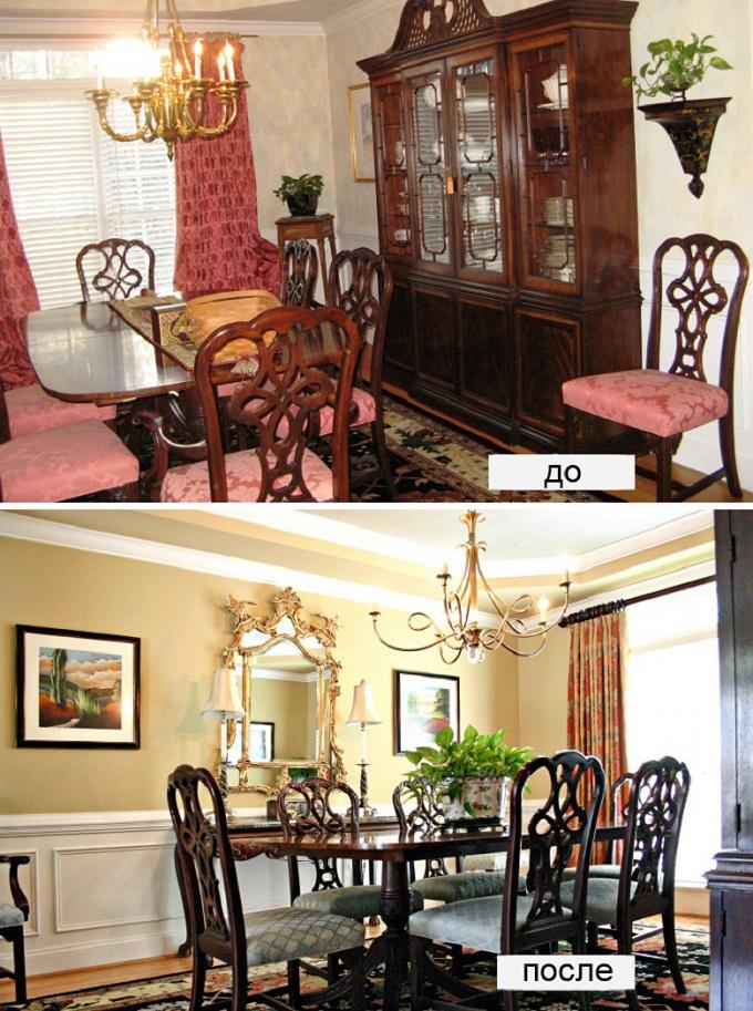 ремонт комнаты дизайн до и после - 4