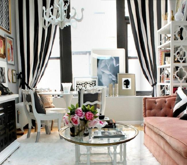 дизайн комнаты: ремонт с ярким акцентом