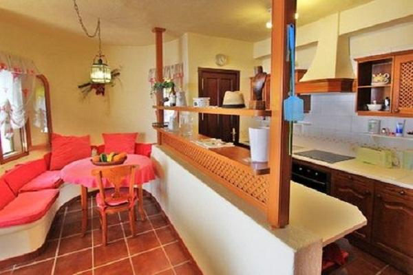дизайн гостиной кухни для пожилого человека