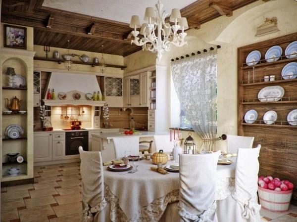 дизайн гостиной кухни 6