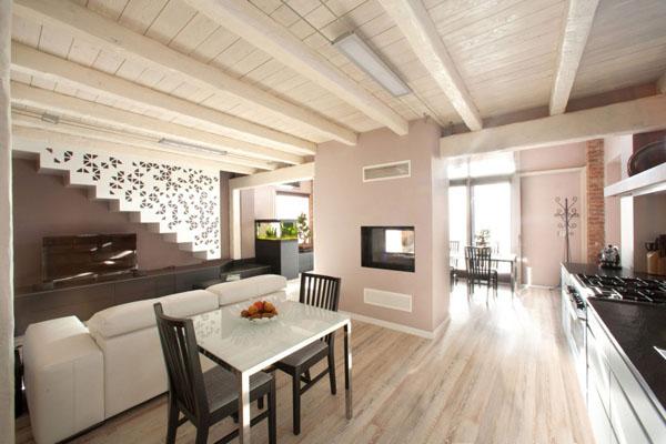 дизайн гостиной кухни 7