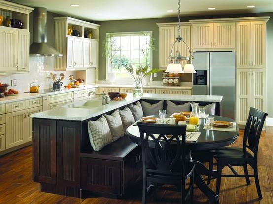 Дизайн кухни фото без эркера