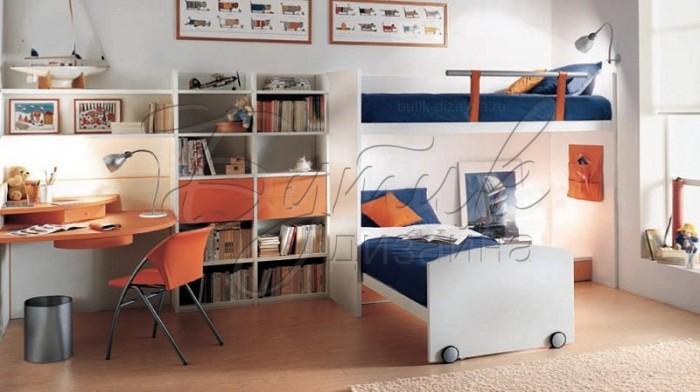 дизайн детской комнаты для двух мальчиков 1