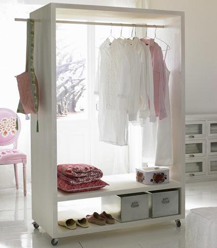 Дизайн шкафа в гардеробной
