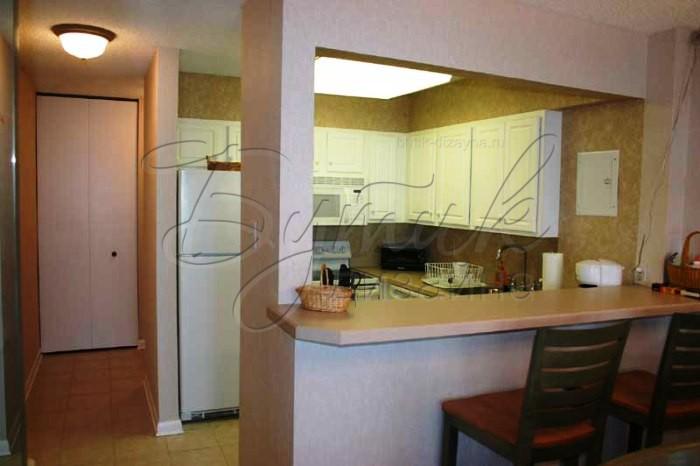 Фото дизайн кухни с барной стойкой
