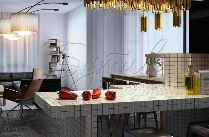 кухня с барной стойкой. фото 6