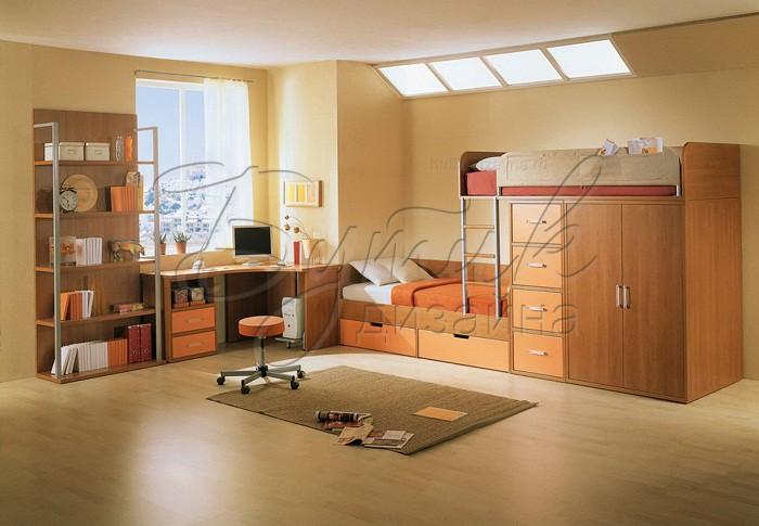 интерьер детской комнаты для 2 мальчиков