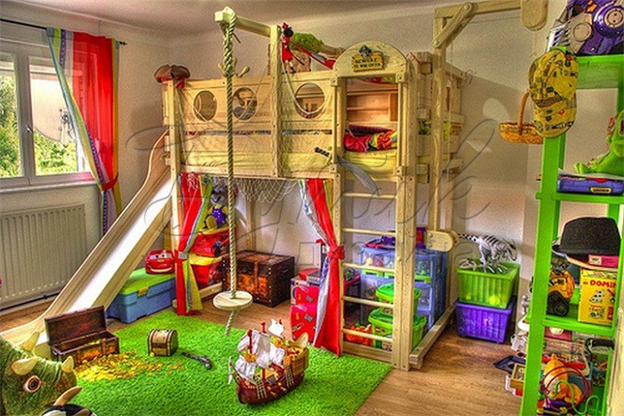 дизайн детской комнаты для 2 мальчиков