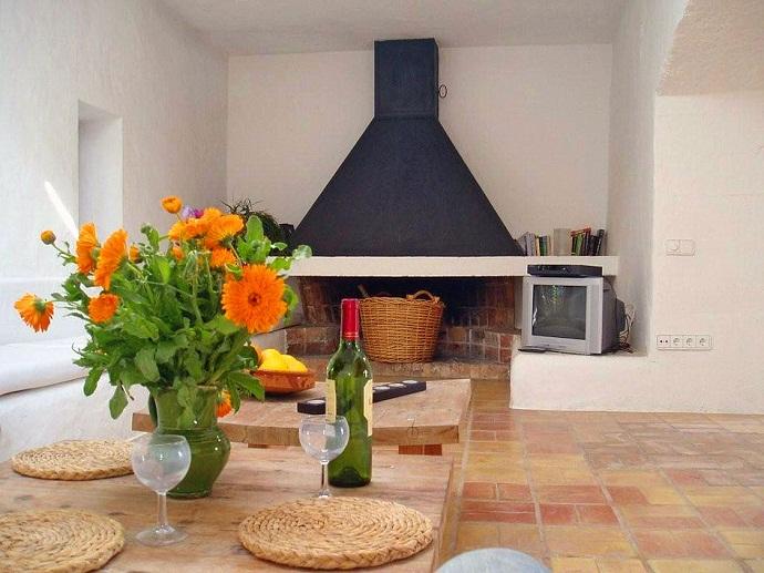 Дизайн гостиной с камином. Фото 3