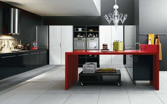 дизайн кухни 12 кв м в  просторный