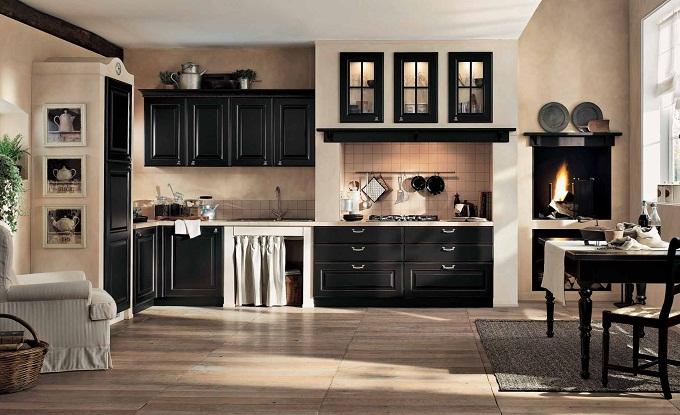 классический дизайн кухни 12 кв м