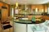 дизайн кухни 12 кв м с круглым столом