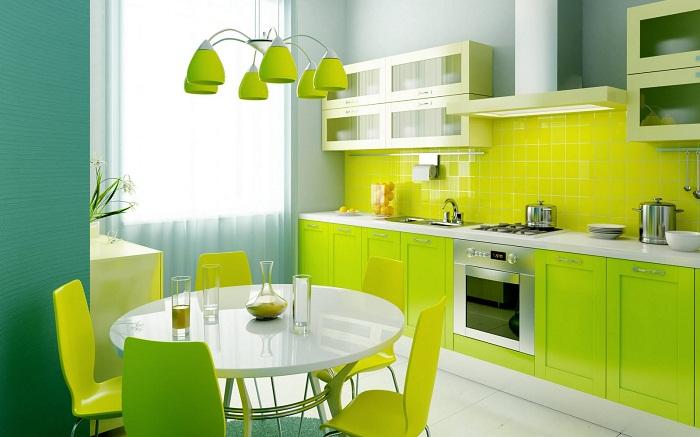 дизайн кухни 12 кв м в  в современном стиле
