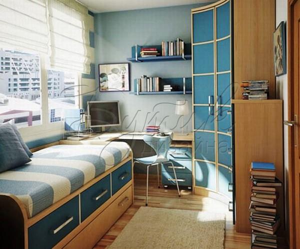 Дизайн комнаты для мальчика - подростка. Фото 1