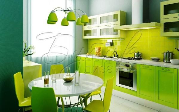 Дизайн обоев для кухни. Фото 1