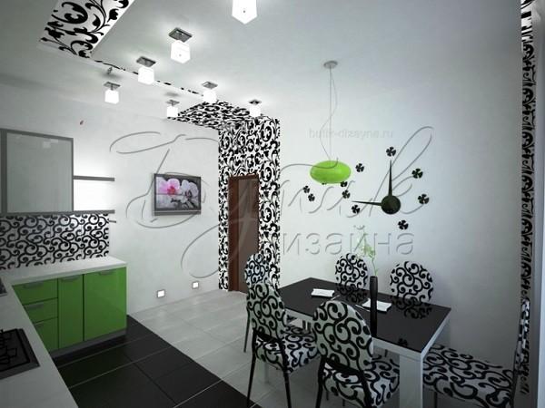 Дизайн обоев для кухни. Фото 3