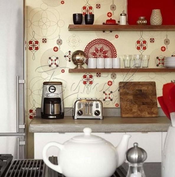 Дизайн обоев для кухни. Фото 5