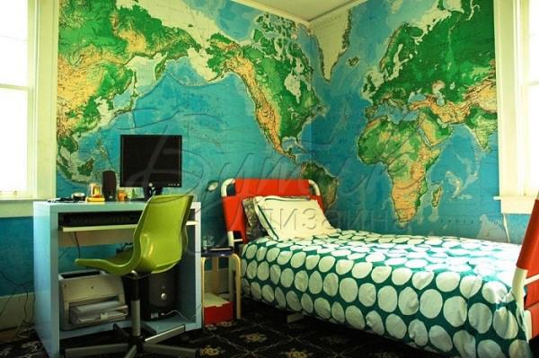 Дизайн комнаты для мальчика - подростка. Фото  7