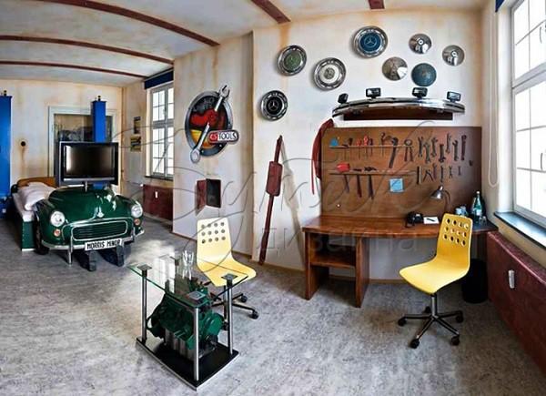 Дизайн комнаты для мальчика - подростка. Фото 9