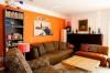 дизайн гостиной фото в оранжевых тонах